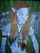 Avatar Paintings - Avatar by Tammy Rekito
