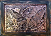 Metal  Reliefs - Ave Celta by Cacaio Tavares