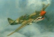 Avg Flying Tiger Print by Michael Swanson