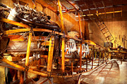 Aviation - Early Days Of Aviation Print by Mike Savad