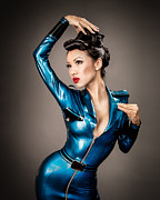 Latex Prints - Aviator Vixen 1163 Print by Gary Heller