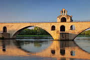 Provence Photos - Avignon Bridge by Brian Jannsen