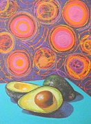 Alligator Pear Framed Prints - Avocado Delight Framed Print by Adel Nemeth