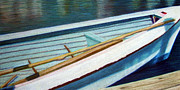 Dock Drawings - Avon Boat by Ann Thompson Nemcosky
