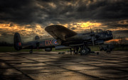 Avro Prints - Avro Lancaster NX611 Print by Jason Green