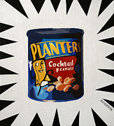 Peanuts Paintings - Aw Nuts by Donald Amorosa