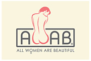 AWAB logo - AWAB Greeting Card