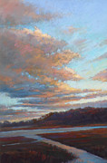 Tidal River Pastels - Awaken by Ed Chesnovitch