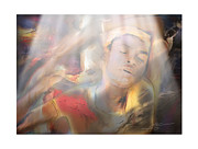 African-american Digital Art Prints - Awakening Print by Bob Salo