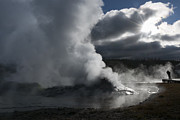 Awakening In Yellowstone Print by Sandra Bronstein