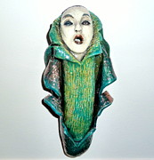 Sculpture Ceramics Originals - Awakening by Satya Winkelman
