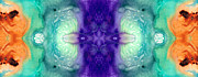 Kaleidoscope Paintings - Awakening Spirit - Pattern Art By Sharon Cummings by Sharon Cummings