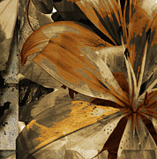 Turning Leaves Mixed Media Prints - Awed III Print by Yanni Theodorou