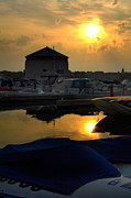 Paul Wash Art - Awesome Kingston Marina Sunrise by Paul Wash