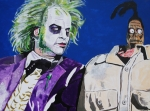 Beetlejuice Framed Prints - Awkward Framed Print by Jeremy Moore