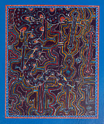 Ayahuasca Art Paintings - Ayahuasca Inspired Art - Howard G Charing - March 2013 by Howard Charing