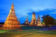 Fototrav Print - Ayutthaya Temple Thailand