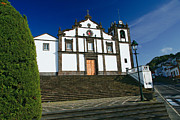 Pau Prints - Azorean church Print by Gaspar Avila
