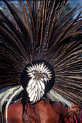 Indian Headdress Posters - Aztec Poster by Paul W Faust -  Impressions of Light