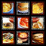All - B L D Dining 1 Tic Tac Toe by Andee Photography