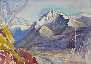 Switzerland Paintings - B05. Ticino CH by Les Melton