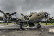 Air Force Photos - B17 Bomber by Puget  Exposure