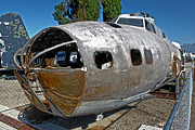 B17 Derelict Airplane - 01 Print by Gregory Dyer