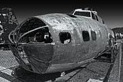 B17 Derelict Airplane - 02 Print by Gregory Dyer