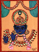 Govinda Framed Prints - Baansuri Krishna Framed Print by Pratyasha Nithin