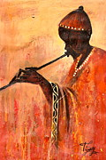 Baba Paintings - Baba Jamutu by Ti Jay