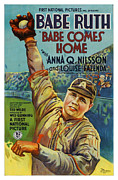 Babe Ruth Photos - Babe Comes Home by CSlater