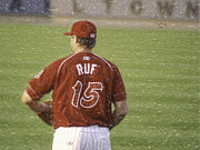 Phillies Metal Prints - Babe Ruf Metal Print by Trish Tritz