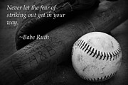 Kelly Hazel - Babe Ruth Baseball Quote