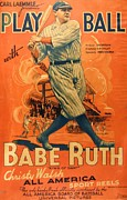 Reproduction - Babe Ruth - Play Ball