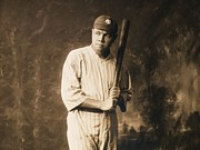 Babe Ruth Photos - Babe Ruth - The Sultan of Swat by Pg Reproductions