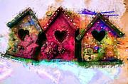 Claire Bull - Baby Birdhouses