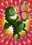 Martin Davey - Baby Birthday Dragon...