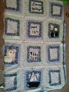 Baby Tapestries - Textiles - Baby Blanket 2 by Julie Dahlberg