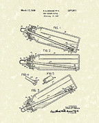 Feeding Drawings Posters - Baby Bottle 1959 Patent Art Poster by Prior Art Design