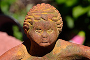 Buddah Prints - Baby Buddah in Sunlight Print by William Jobes