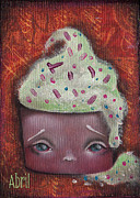 Cupcake Paintings - Baby Cakes II by  Abril Andrade Griffith