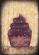 Pie Paintings - Baby Cakes III by  Abril Andrade Griffith