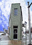 Mj Prints - Baby Flatiron in River Rouge Print by Mj Olsen