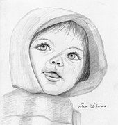 Sketch Drawings - Baby by Jose Valeriano