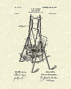 Swing Drawings - Baby Jumper 1903 Patent Art by Prior Art Design
