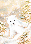 Andrea LaHue - Baby Polar Bear Holiday