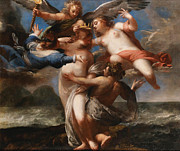 Famous Artists - Bacchus and Ariadne by Sebastiano Mazzoni