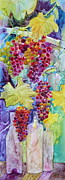 Grapevines Paintings - Bacchus by Nancy Jolley