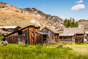 Bannack State Park Photos - Bachelors Row by Sue Smith