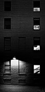 Brick Building Prints - Back Alley 330AM Print by Bob Orsillo
